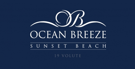 Ocean Breeze - Sunset Beach Logo & Branding