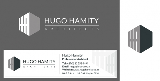 Hugo Hamity Architects Logo & Branding