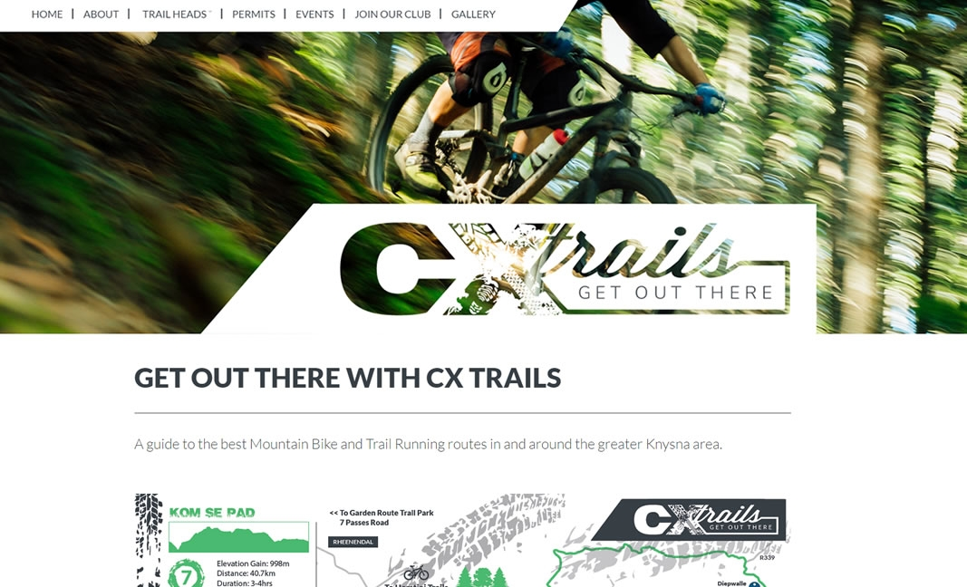CXTrails.co.za Website Design & Development