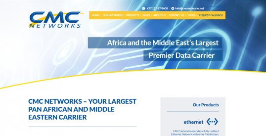 CMC Networks Website Design & Development