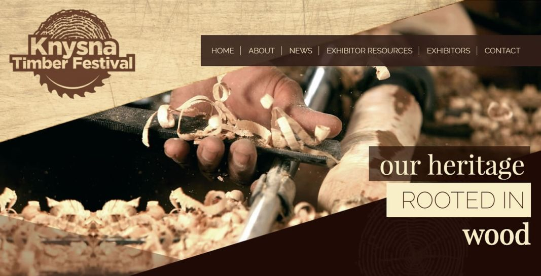 Knysna Timber Festival Website Design & Development