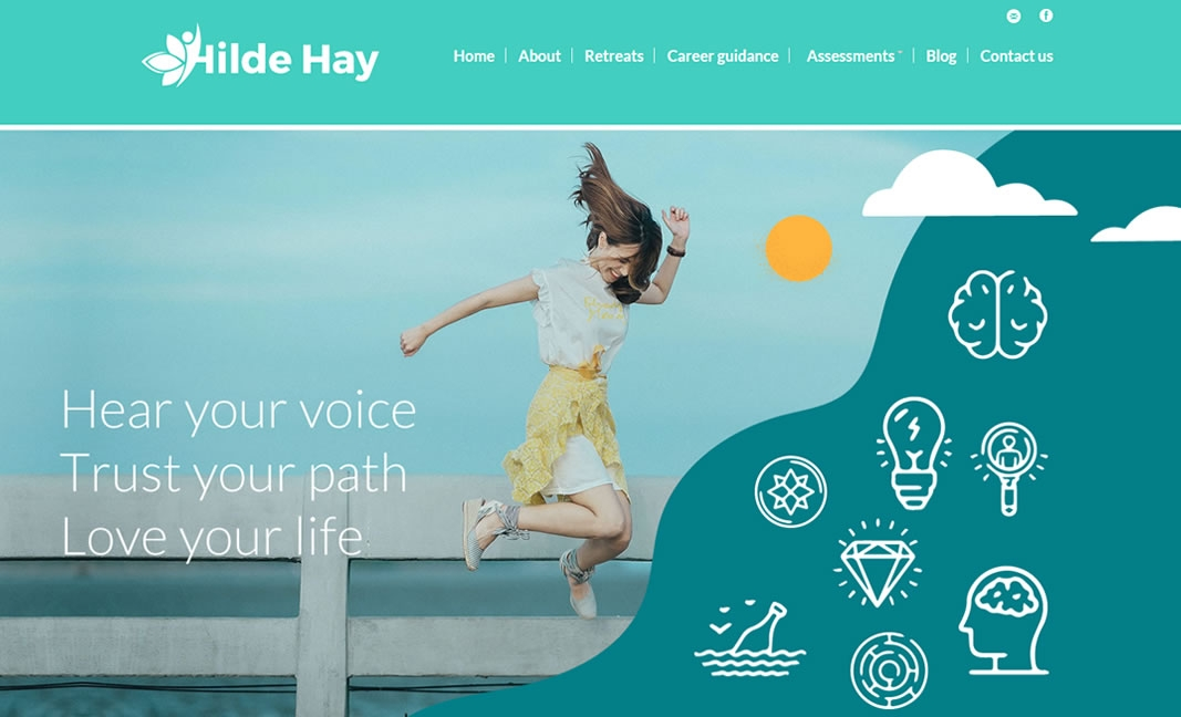 Hilde Hay Psychometrist Website Design & Development